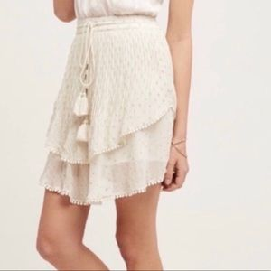 Anthropologie Primrose skirt XS